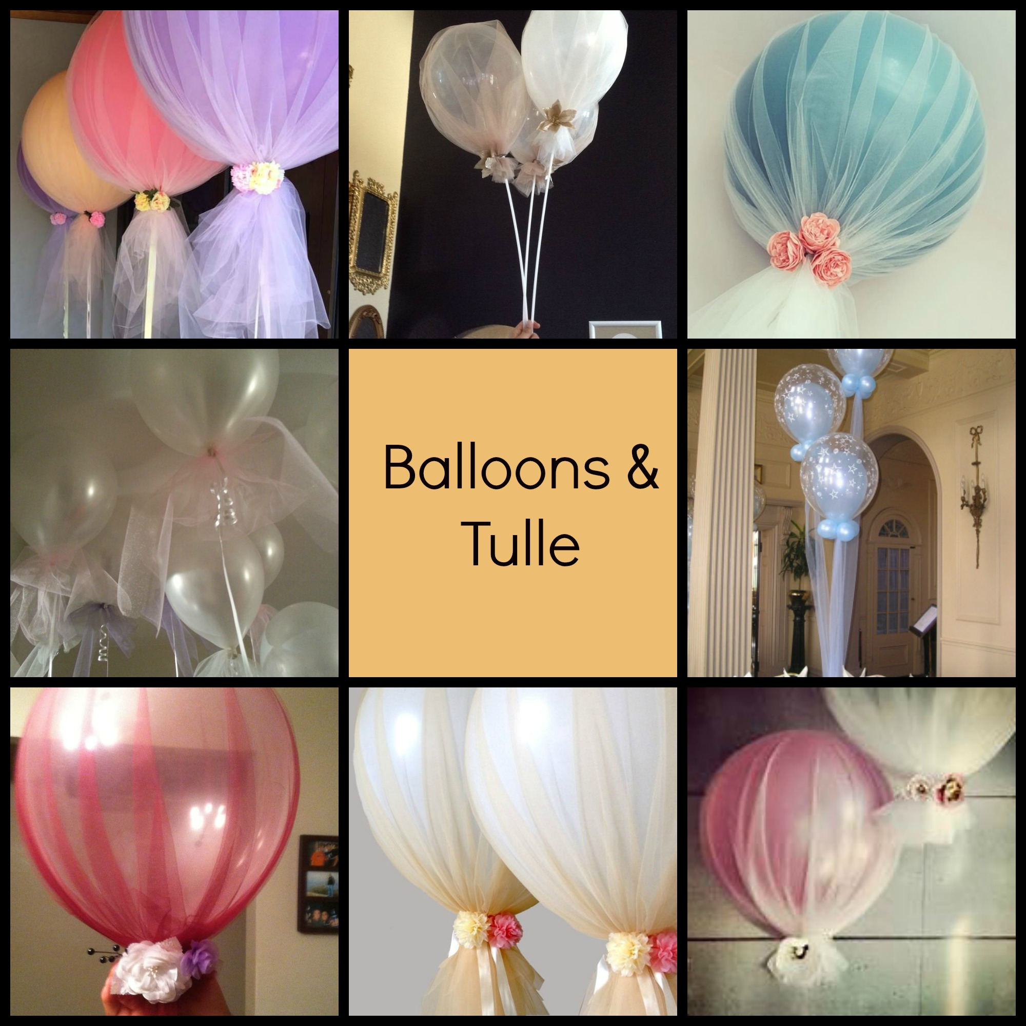 Balloons and Tulle - Share Your Craft - Share Your Crafts