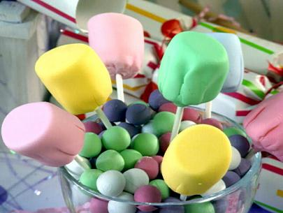 diy fondant marshmallows