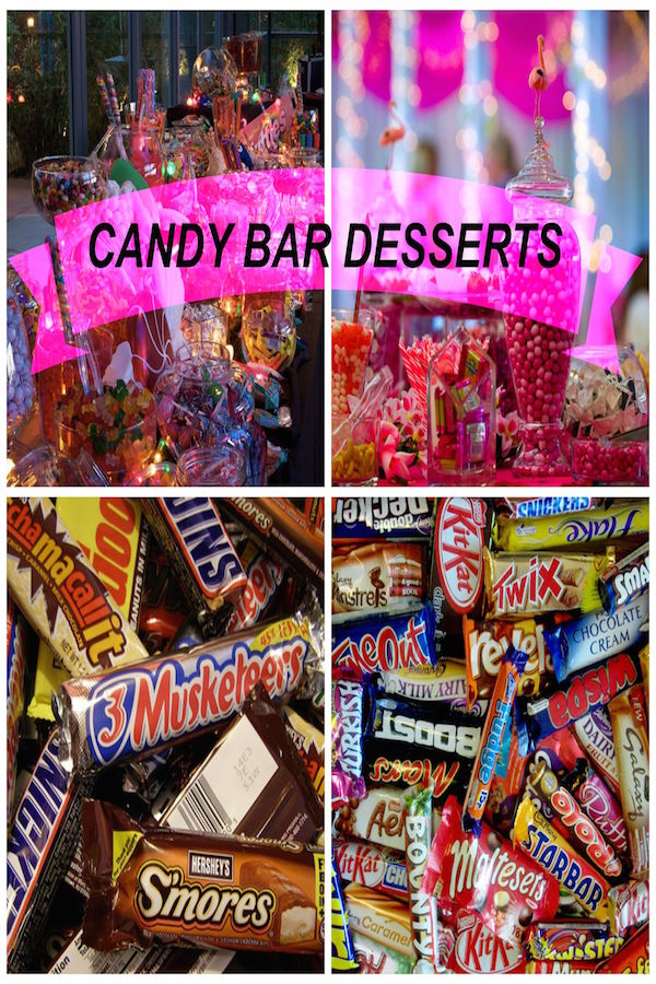 candy bar recipes