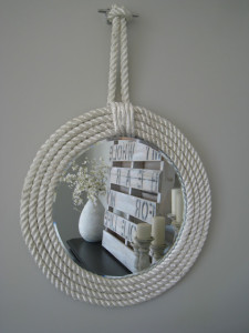 Nautical wall mirror