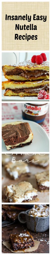 nutella recipes