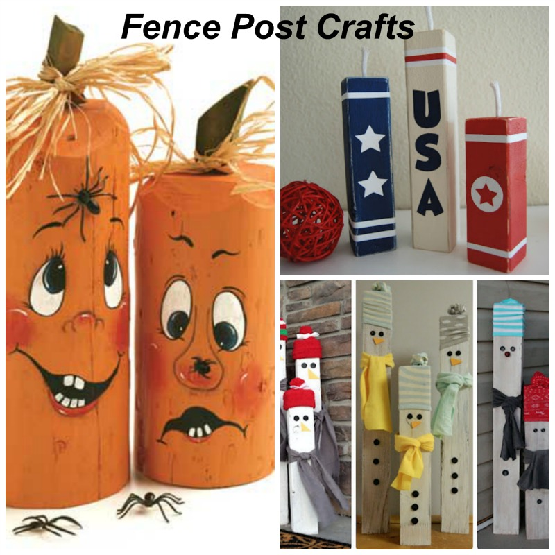 fence post crafts