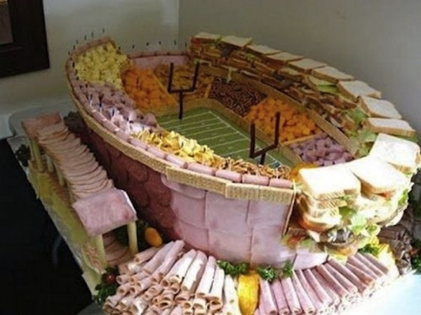 Football Stadium appetizer