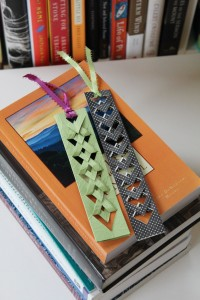fresh04 - diy bookmarks - Folded bookmarks. Photo credit: Alison Sherwood