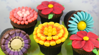 flower cupcake ideas