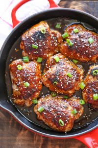 Honey Baked Sesame Chicken